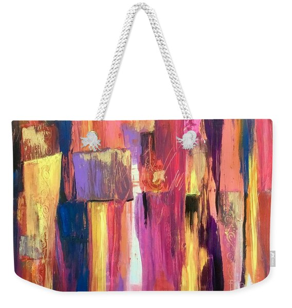 Another Sultry Night In Lisbon Weekender Tote Bag