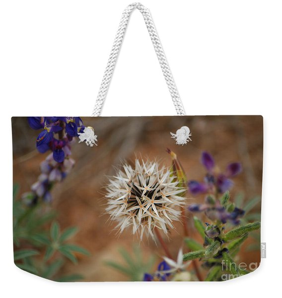 Another White Flower Weekender Tote Bag