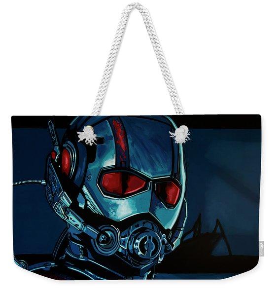 Ant Man Painting Weekender Tote Bag