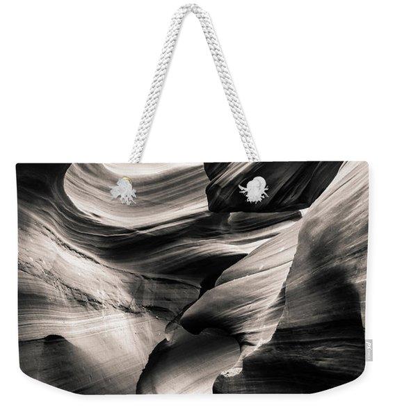 Antelope Canyon Bw Weekender Tote Bag