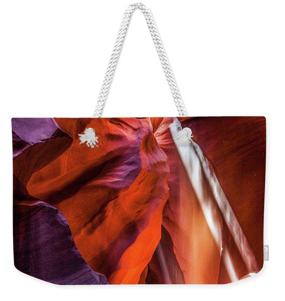 Antelope Canyon Lightshaft 3 Weekender Tote Bag