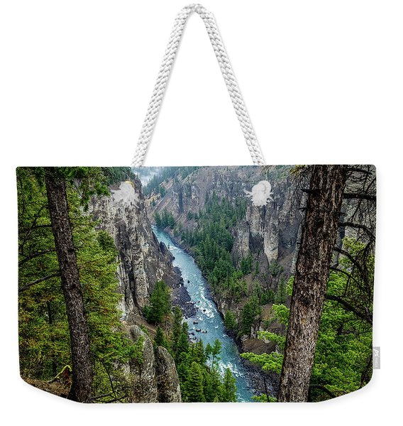 Antelope Creek, Yellowstone Weekender Tote Bag