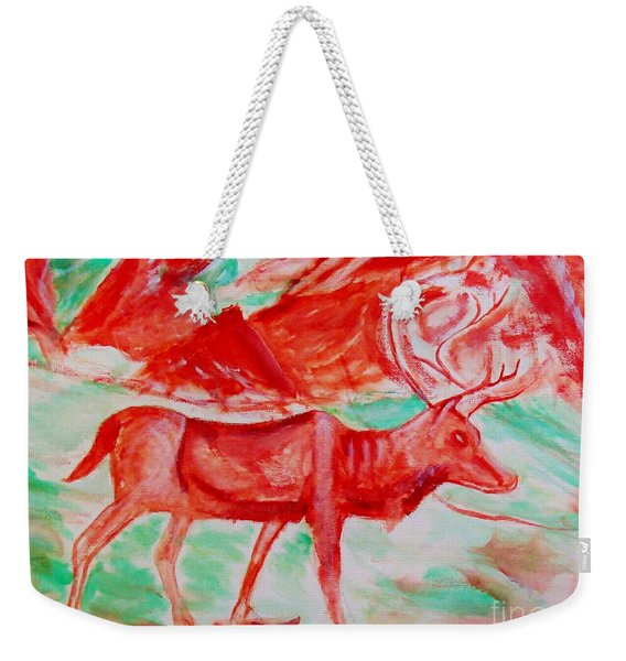 Antelope Save Weekender Tote Bag