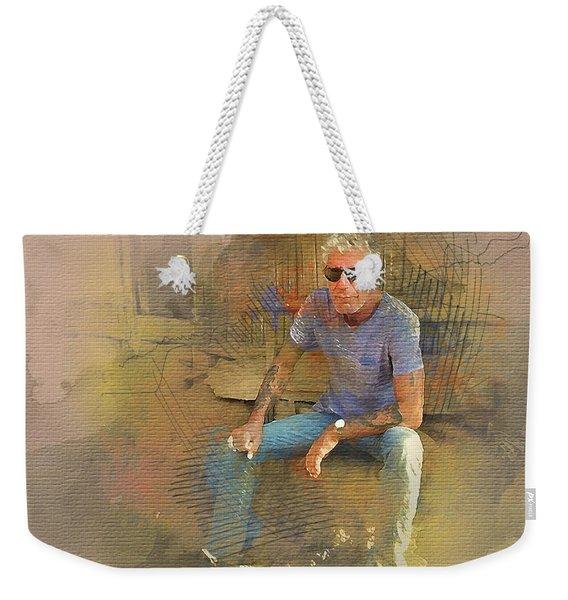 Anthony Bourdain 2 Weekender Tote Bag