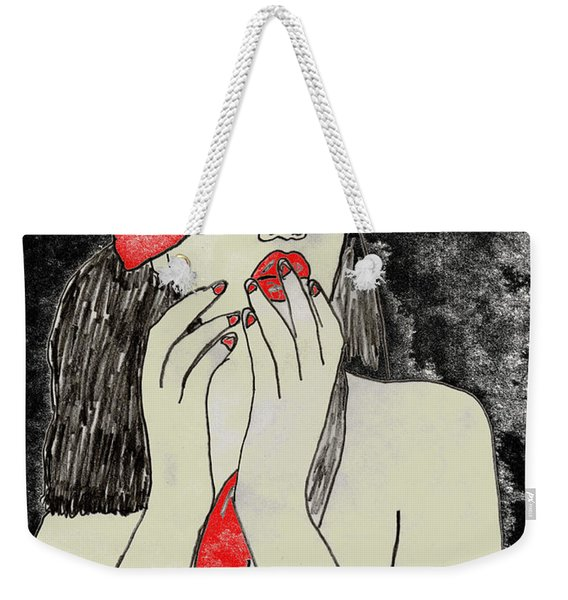 Anticipation Weekender Tote Bag