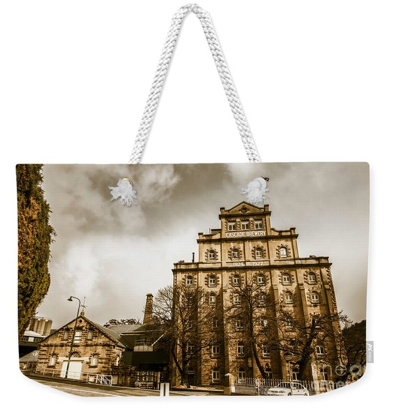 Antique Australia Architecture Weekender Tote Bag