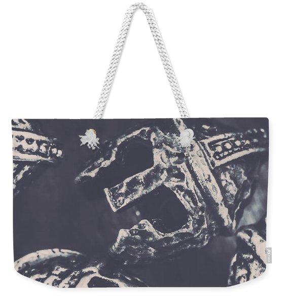 Antique Battles Weekender Tote Bag