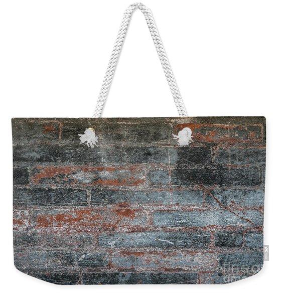Antique Brick Wall Weekender Tote Bag