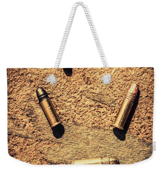 Antique Bullet Art Weekender Tote Bag