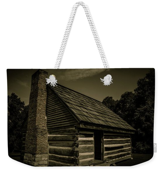Antique Cabin - The Hermitage Weekender Tote Bag