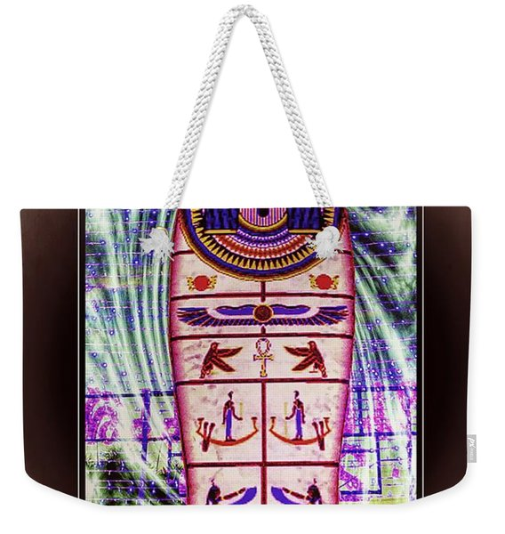 Antique Egyptian Magic Weekender Tote Bag
