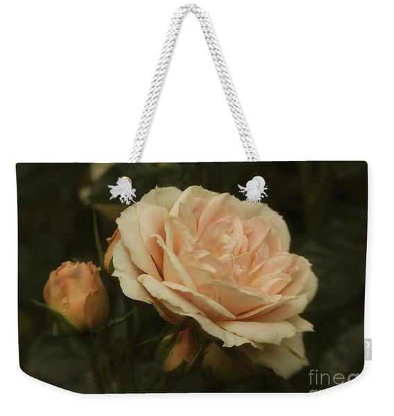Antique English Rose Weekender Tote Bag