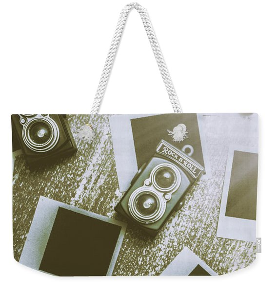 Antique Film Photography Fun Weekender Tote Bag