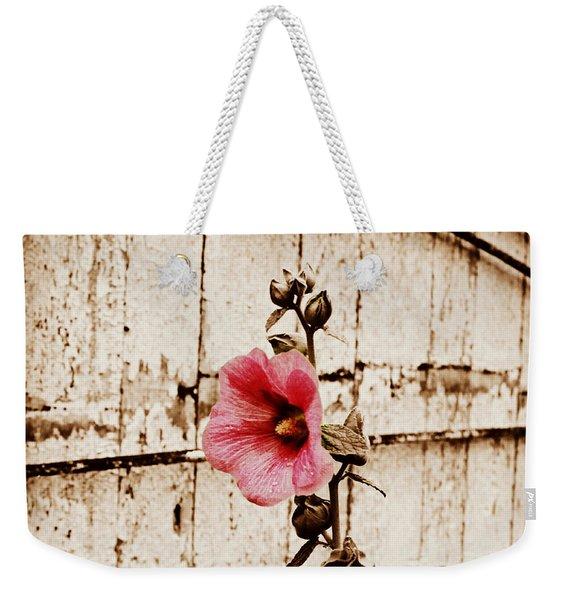 Antique Flower Weekender Tote Bag