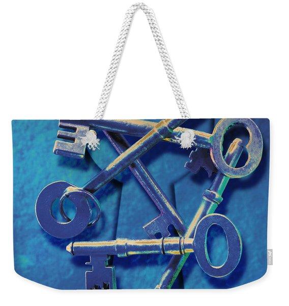 Antique Keys Weekender Tote Bag