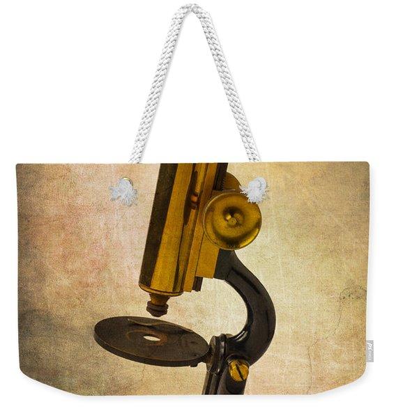 Antique Micrscope Weekender Tote Bag