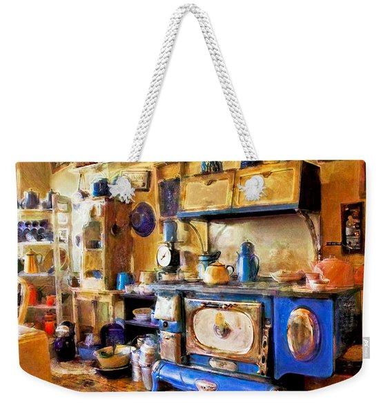 Antique Store Kitchen Weekender Tote Bag