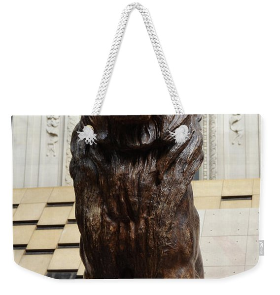 Antoine Louis Barye Seated Lion Sculpture Orsay Museum Paris France Weekender Tote Bag