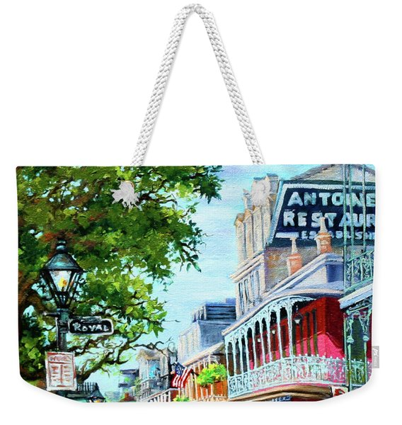 Antoine's Weekender Tote Bag