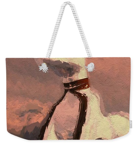 Anubis - God Of Egypt Weekender Tote Bag