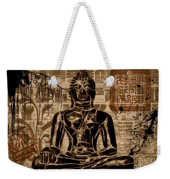 Anuttara Samyak Sambodhi Weekender Tote Bag