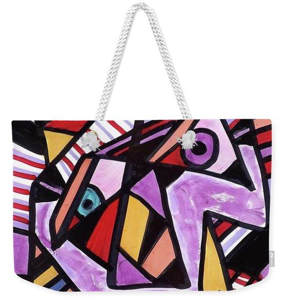 Anxiety   Weekender Tote Bag