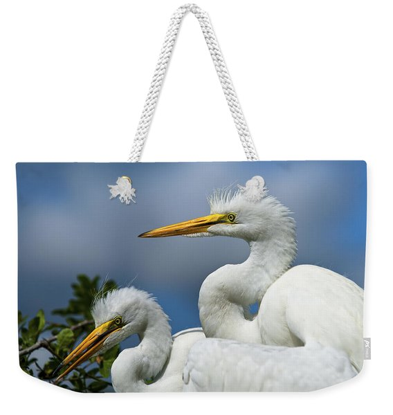 Anxiously Waiting Weekender Tote Bag