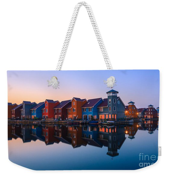 Any Colour You Like - Reitdiephaven - Netherlands Weekender Tote Bag