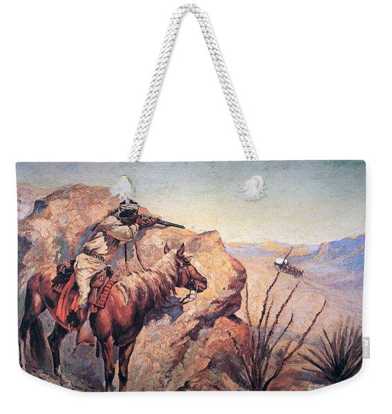 Apache Ambush Weekender Tote Bag