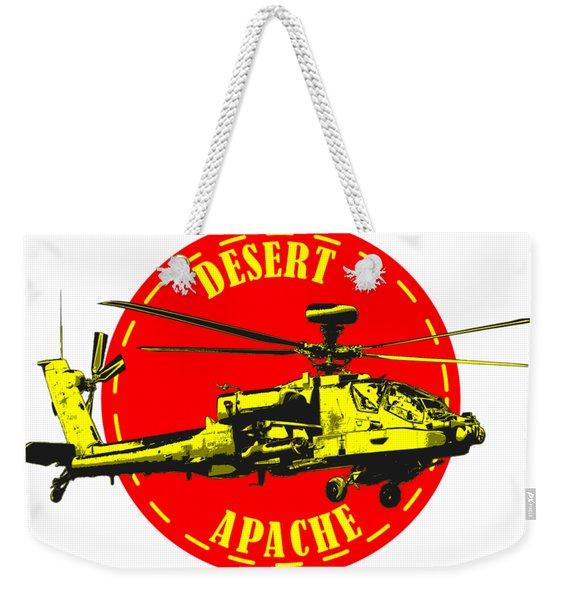 Apache On Desert Weekender Tote Bag