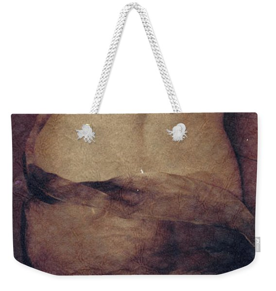 Weekender Tote Bag featuring the photograph Aphrodite by Catherine Sobredo