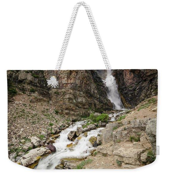 Apikuni Falls Weekender Tote Bag