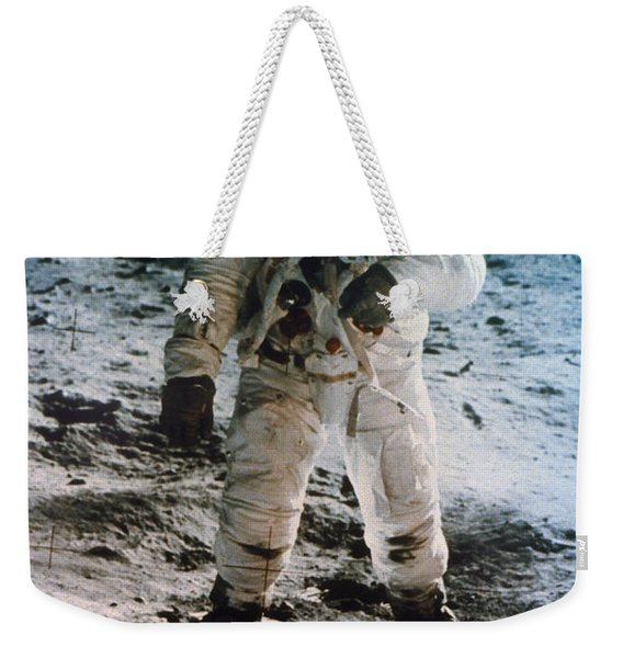 Apollo 11 Buzz Aldrin Weekender Tote Bag