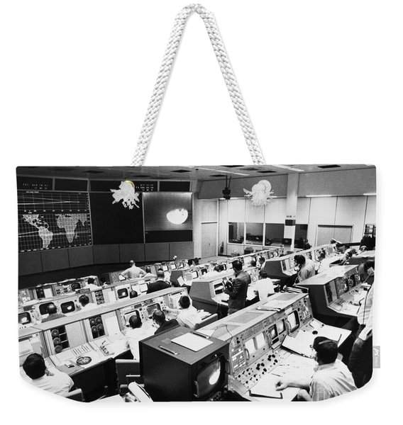 Apollo 8: Mission Control Weekender Tote Bag