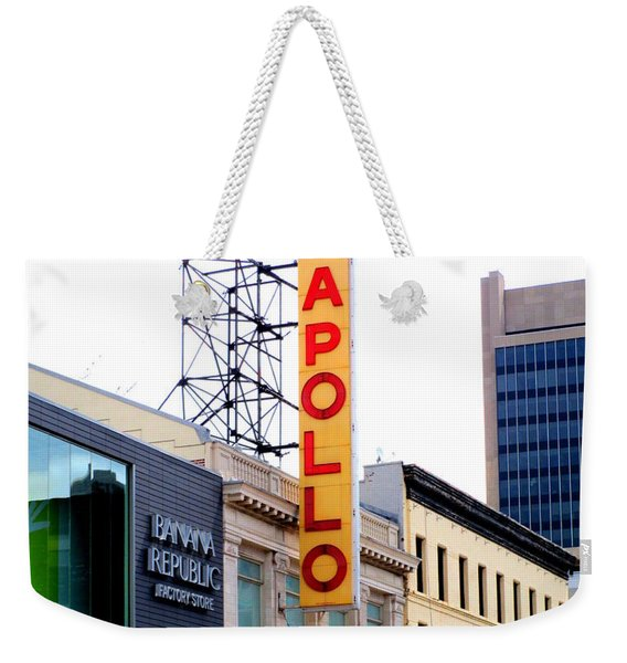 Apollo Theater Weekender Tote Bag