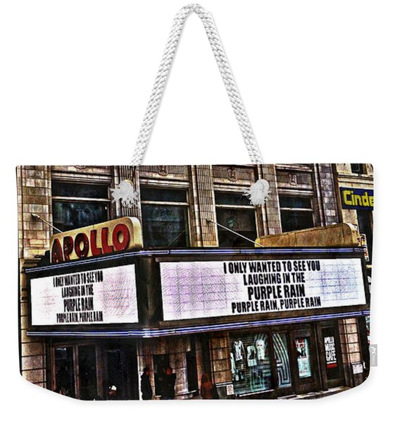 Apollo Theatre, Harlem Weekender Tote Bag