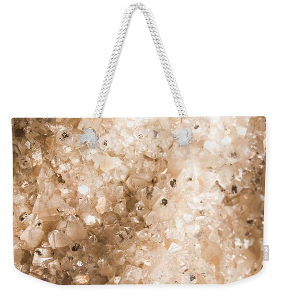 Apophyllite Mineral Background Weekender Tote Bag