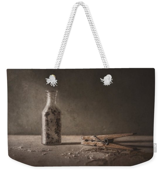 Apothecary Bottle And Clothes Pin Weekender Tote Bag