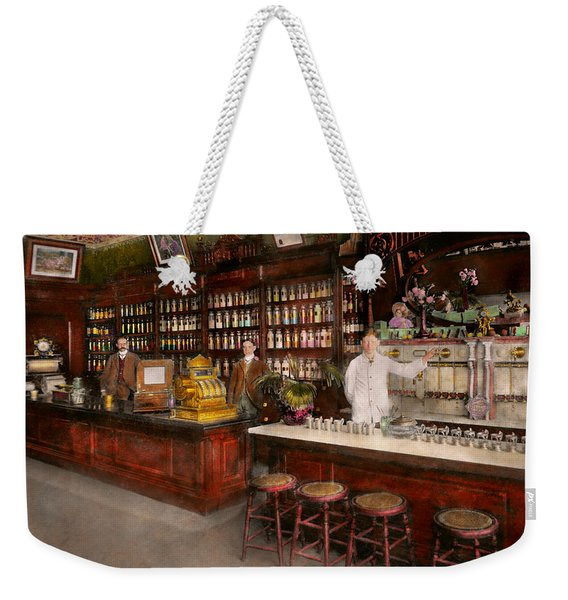 Apothecary - Cocke Drugs Apothecary 1895 Weekender Tote Bag