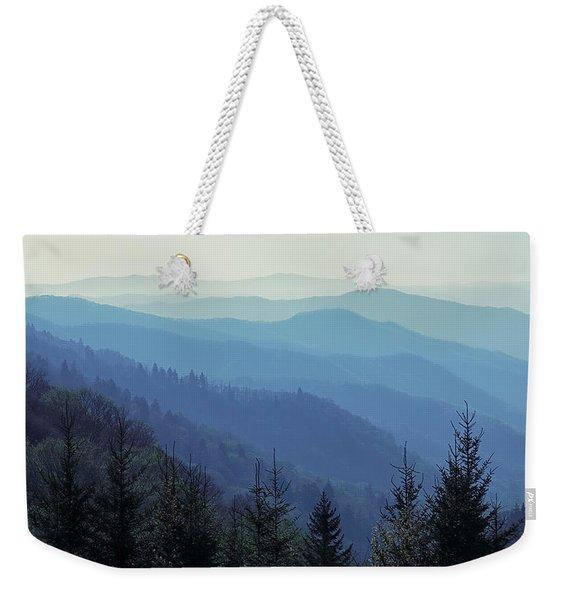 Appalachian Blue Weekender Tote Bag