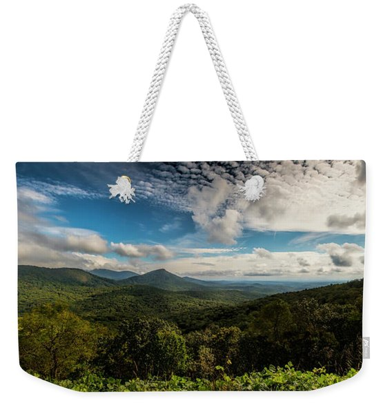 Appalachian Foothills Weekender Tote Bag