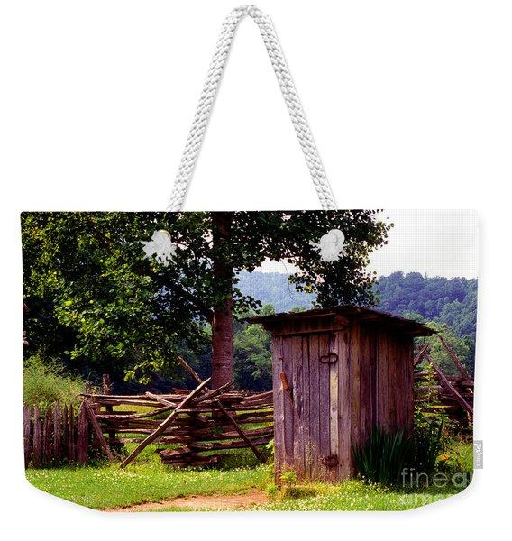 Appalachian Hill-ton Weekender Tote Bag