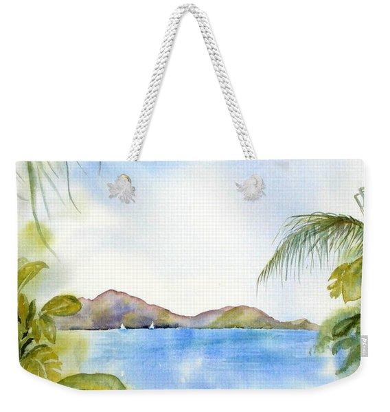 Apple Bay Wave Weekender Tote Bag