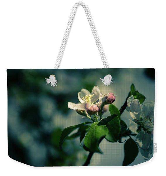 Apple Blossom Weekender Tote Bag