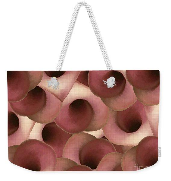Apple Blossom Petals Weekender Tote Bag
