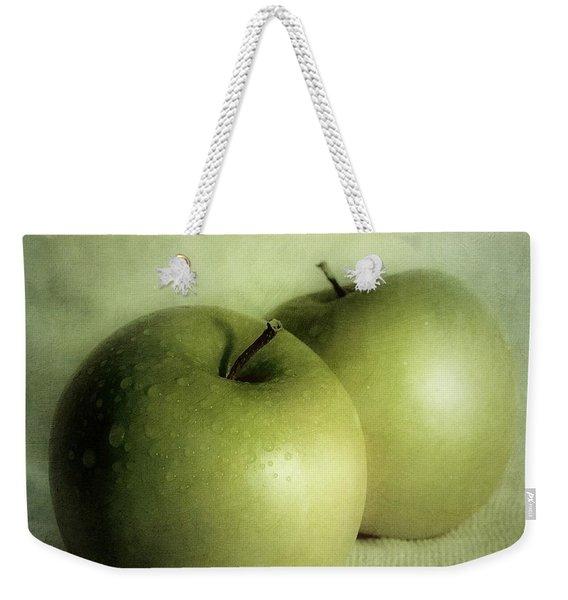 Apple Painting Weekender Tote Bag