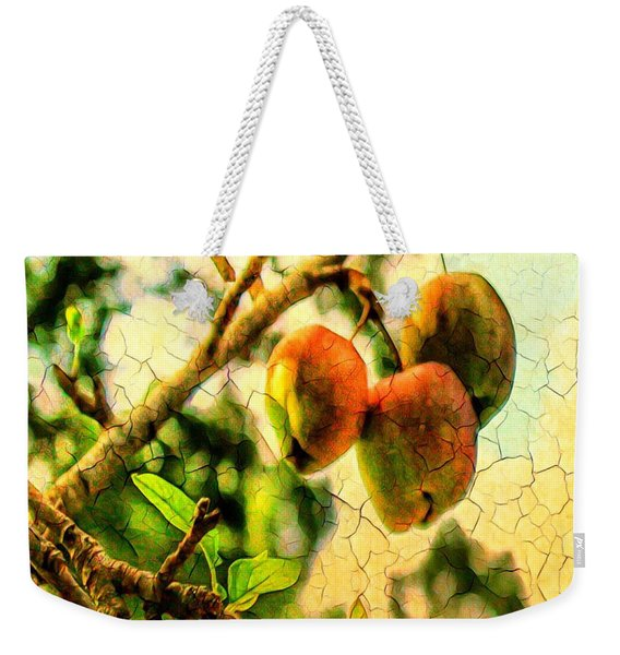 Apple  Season Weekender Tote Bag