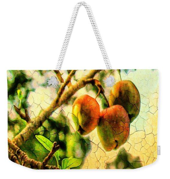 Apple  Season Weekender Tote Bag