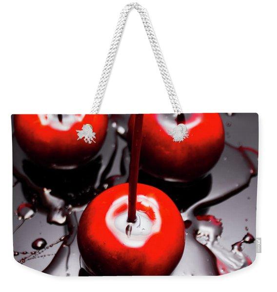 Apple Taffy Still Life. Halloween Treats Weekender Tote Bag