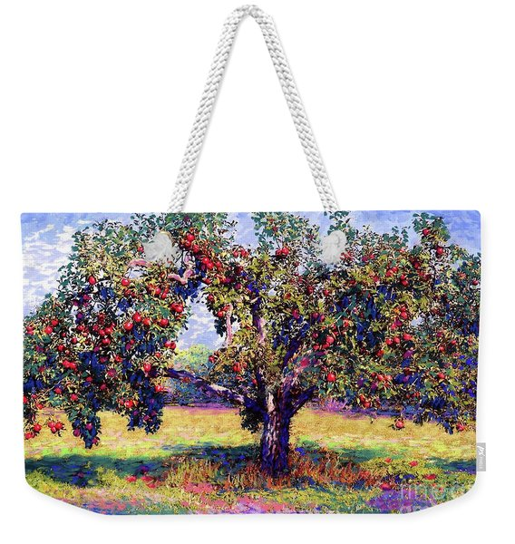 Apple Tree Orchard Weekender Tote Bag